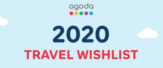 AGODA 2020 Wishlist