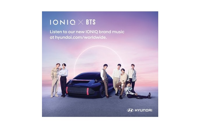 """Hyundai partners with BTS, releases new song """"IONIQ: I'm On It"""" - MARKETECH APAC"""