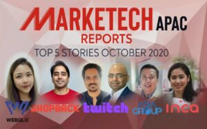 MARKETECH APAC Reports Top 5 Stories October 2020