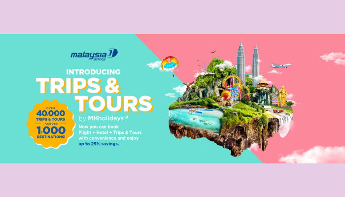 Malaysia Airlines Trips and Tours