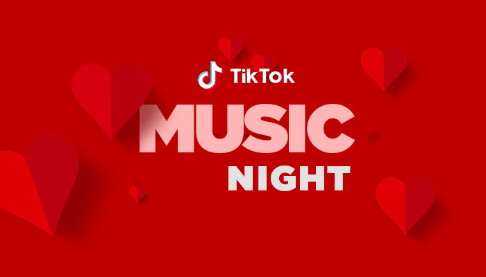 TikTok Music Night Singapore Asia