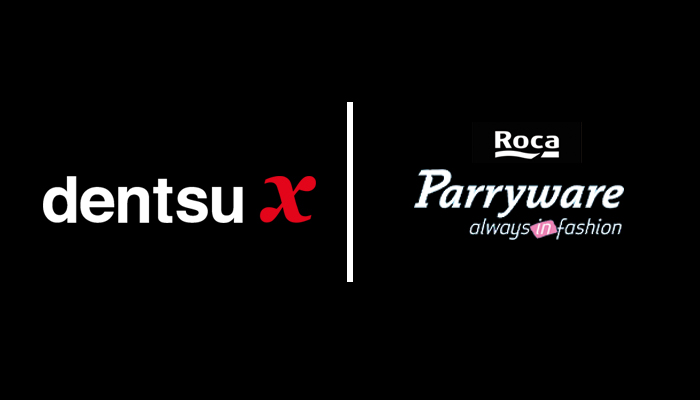 dentsu x and roca parryware