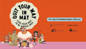 SA govt new campaign 'quit your way in may'