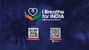i breathe for india campaign tie giveindia