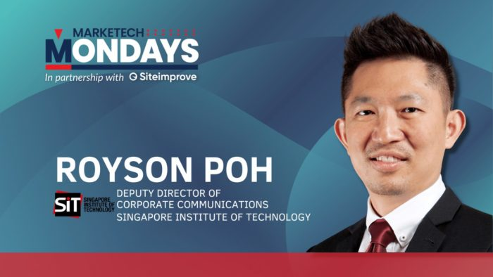 MARKETECH Mondays feat. Singapore Institute of Technology's deputy director for corporate communications, Royson Poh